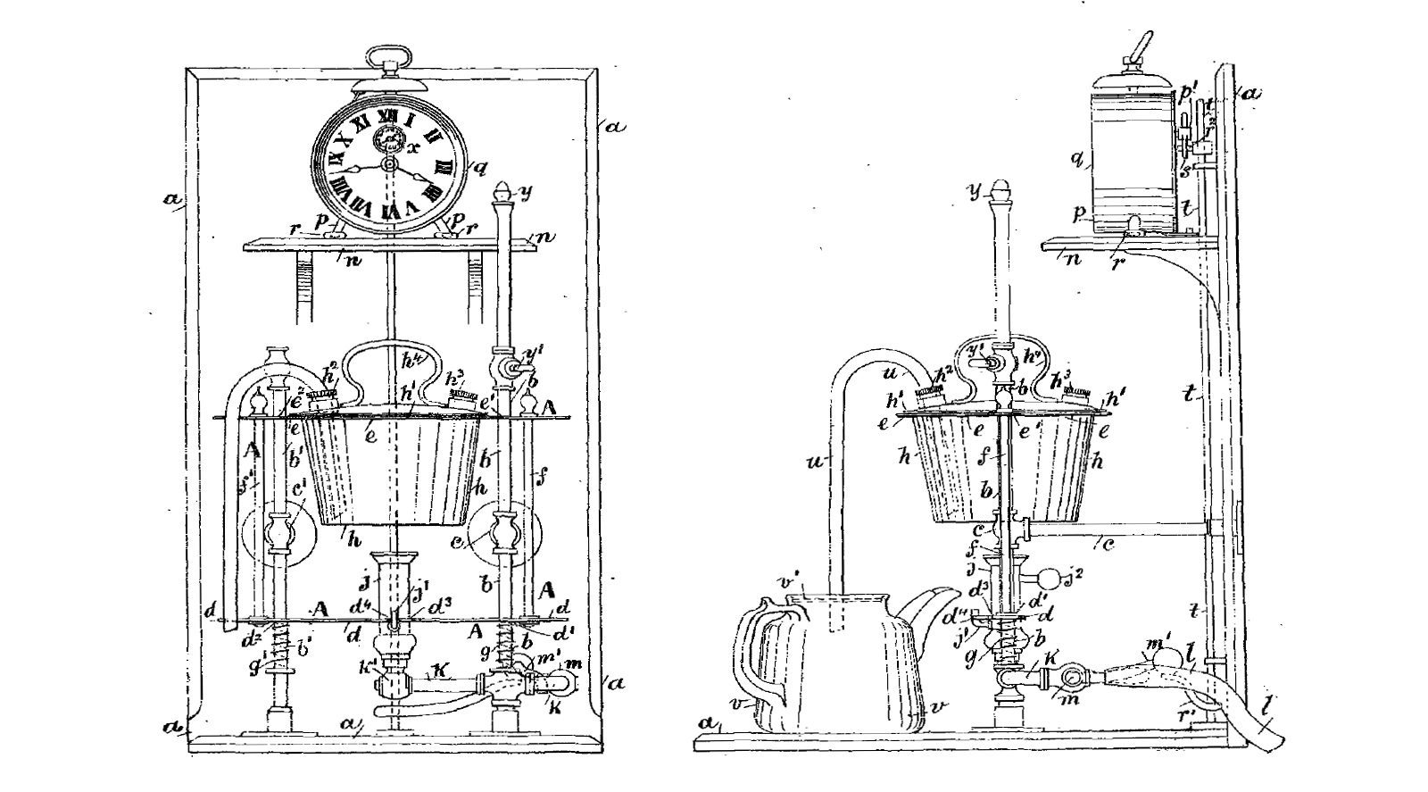 1893 James Greenhalgh Gas Teasmade GB-189315604A
