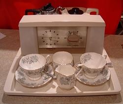 1974 Goblin Teasmade 855 with Maple Tea Service