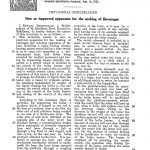 Beckingsale Patent Text 1935