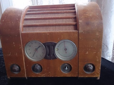 Goblin Timespot Clock Radio