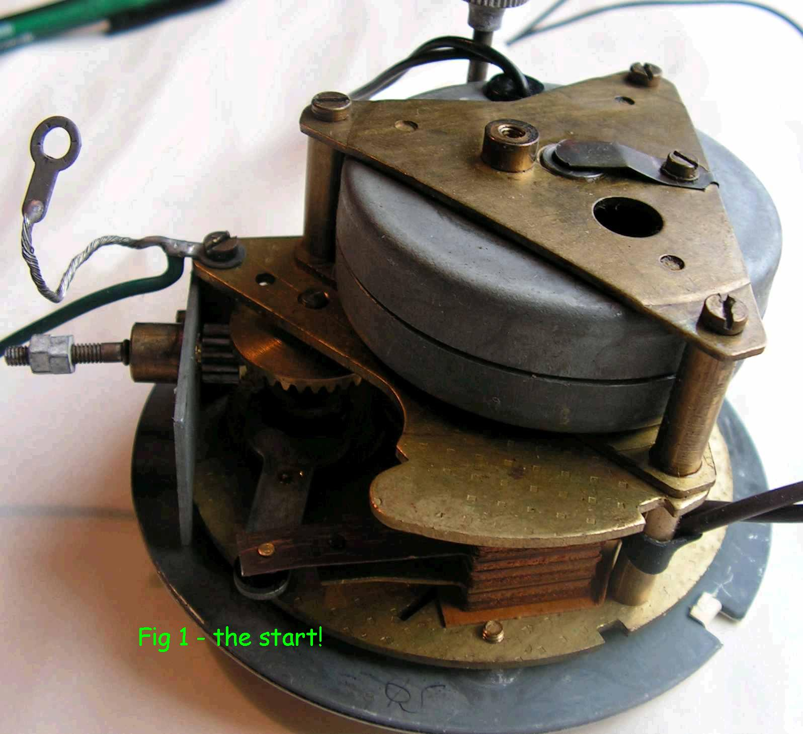 Fig 1 The Clock Movement