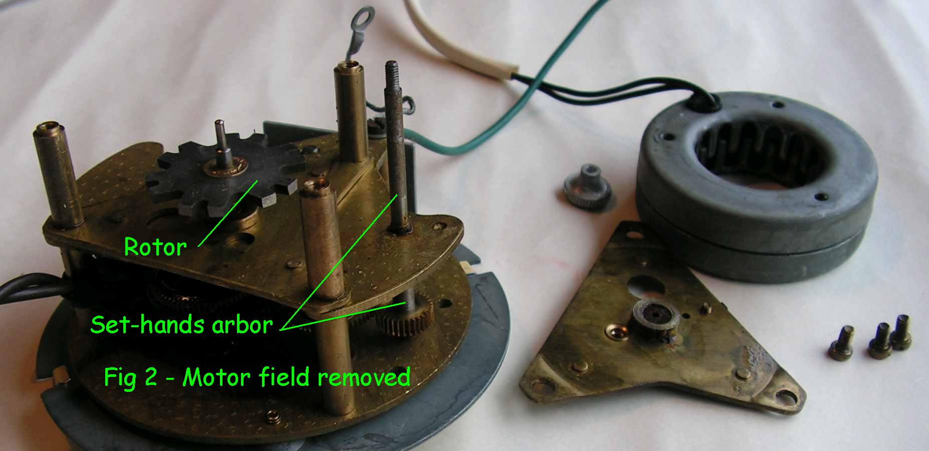 Fig 2 - motor field removed