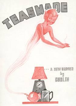 Goblin Teasmade Launch Leaflet, presented by Doug Fennell