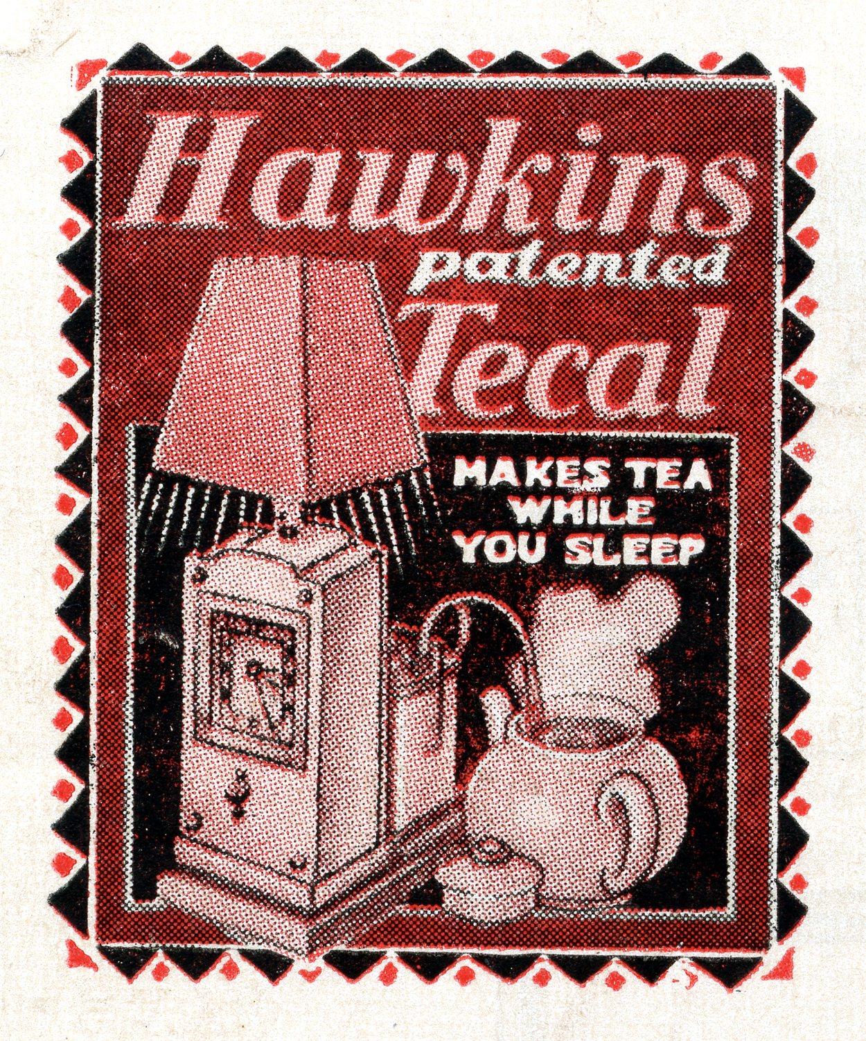 Hawkins Tecal 1200a illustration Silver Lining Sept 1950