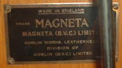 Magneta Clock Plate