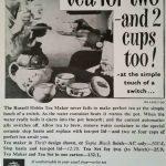 Russell Hobbs 1965 Advert