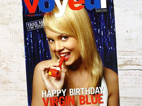 Voyeur in-flight magazine from Virgin Blue