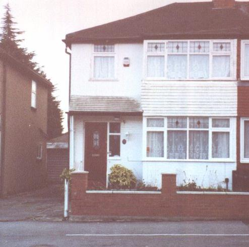 George Absolom's house in Hayes