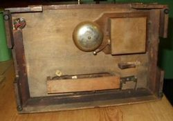 The base of the 1932 Teesmade cabinet
