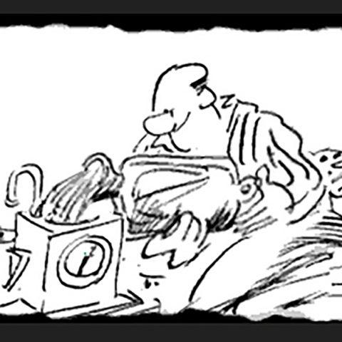 Larry Teasmade Cartoon