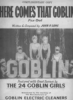 Here Comes That Goblin 1935 Sheet Music