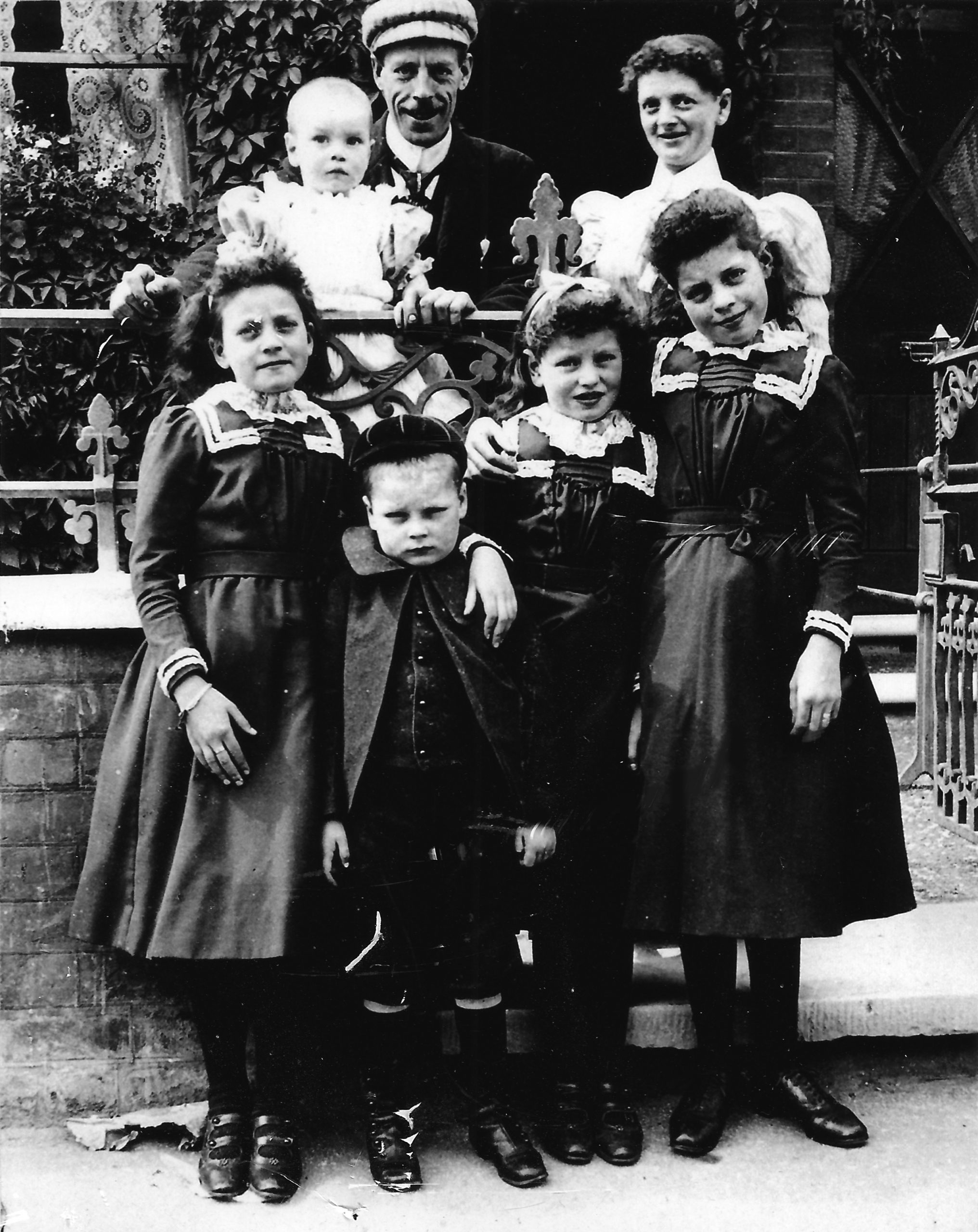 Samuel Rowbottom and his Family, copyright Michael Lewis