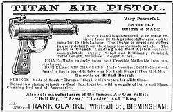 Advert for Titan