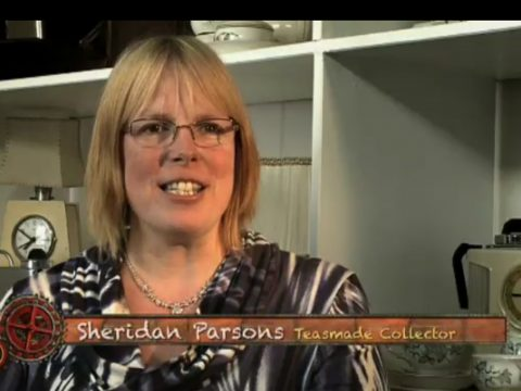 Sheridan's appearance on Wallace and Gromit's World of Invention